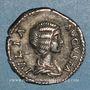 Münzen Julia Domna, épouse de Septime Sévère († 217). Denier. Rome, 203. R/: la Piété