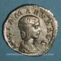 Münzen Julia Maésa, grand-mère d'Elagabale († 226). Denier. Rome, 218-220. R/: Junon