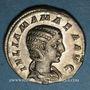 Münzen Julia Mamée, mère d'Alexandre Sévère († 235). Denier. Rome, 222. R/: Junon diadémée