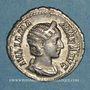 Münzen Julia Mamée, mère d'Alexandre Sévère († 235). Denier. Rome, 228. R/: la Félicité