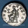 Münzen Julia Mamée, mère d'Alexandre Sévère († 235). Denier. Rome, après 235. R/: Junon assise à gauche