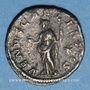 Münzen Julia Soémias, mère d'Elagabale († 235). Denier. Rome, 220-222. R/: Vénus debout à gauche
