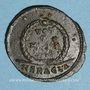 Münzen Julien II le philosophe (360-363). Centénionalis. Héraclée, 1ère officine, 362-63. R/: couronne