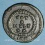 Münzen Julien II le philosophe (360-363). Centénionalis. Sirmium 2e officine, 362-363. R/: couronne