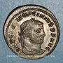 Münzen Licinius I (308-324). Follis. Thessalonique, 3e officine, 312. R/: Jupiter