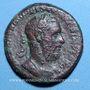 Münzen Macrin (217-218). As. Rome, 217. R/: Macrin dans un quadrige
