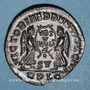 Münzen Magnence (350-353). Maiorina. Lyon, 1ère officine, 351. R/: deux Victoires se faisant face