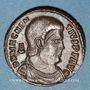 Münzen Magnence (350-353). Maiorina. Lyon, 2e officine, 351-352. R/: deux Victoires se faisant face