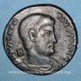 Münzen Magnence (350-353). Maiorina. Rome, 2e officine, 350. R/: Magnence à cheval à droite