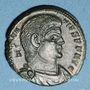 Münzen Magnence (350-353). Maiorina. Trèves, 1ère officine, 352. R/: deux Victoires tenant une couronne