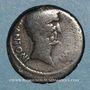 Münzen Marc-Antoine (vers 83-30 av. J-C). Denier. Epire (?), 42. R/: temple