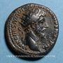 Münzen Marc Aurèle (161-180). Dupondius. Rome, 162. R/: Marc-Aurèle et Lucius Vérus