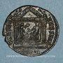 Münzen Maxence (306-312). Follis. Ticinum, 3e officine, 309-310. R/: Rome