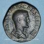 Münzen Maxime, césar sous Maximin I Thrax (235-238). Sesterce. Rome, 236-238. R/: Maxime debout à gauche