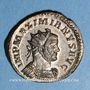 Münzen Maximien Hercule, 1er règne (286-305). Antoninien. Lyon, 2e officine, 290-291. R/: la Paix