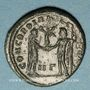 Münzen Maximien Hercule, 1er règne (286-305). Bronze radié. Héraclée, 3e officine, 295-298. R/: Maximilien