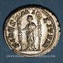 Münzen Maximin I Thrax (235-238). Denier. Rome, 235-236. R/: la Fidélité militaire debout à gauche