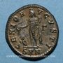 Münzen Maximin II Daza, auguste (309-313). Follis. Nicomédie, 3e officine, 312. R/: Génie