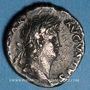 Münzen Néron (54-68). Denier. Rome, 64-65. R/: la Concorde assise à gauche