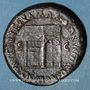 Münzen Néron (54-68). Sesterce. Rome, après 65. R/: temple de Janus