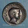 Münzen Octave (43-27 av. J-C). Denier. Italie, 36 av. J-C. R/: temple tétrastyle