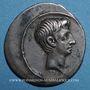 Münzen Octave (43-27 av. J-C). Denier. Rome, 29 av. J-C. R/: Curia Julia