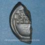 Münzen Octave et César. As (= dupondius coupé). Vienne, vers 36 av. J-C