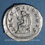 Münzen Philippe I (244-249). Antoninien. Rome, 244-245. R/: la Sécurité assise à gauche