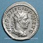 Münzen Philippe I (244-249). Antoninien. Rome, 247. R/: éléphant marchant à gauche