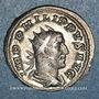 Münzen Philippe I (244-249). Antoninien. Rome, 249. R/: la Fidélité