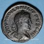 Münzen Philippe I (244-249). Sesterce. Rome, 247. R/: la Joie. Inédit !