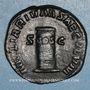Münzen Philippe I (244-249). Sesterce. Rome,  248. R/: cippe