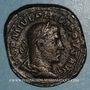Münzen Philippe I (244-249). Sesterce. Rome, 249. R/: la Fortune