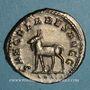 Münzen Philippe II, auguste (247-249). Antoninien. Rome, 3e officine, 248. R/: chèvre
