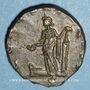 Münzen Postume (260-269). Antoninien de poids lourd frappé par Auréolus. Milan, 268. R/: la Concorde