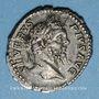 Münzen Septime Sévère (193-211). Denier. Rome, 206. R/: Génie nu debout à g.