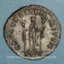 Münzen Séverine, 1ère épouse d'Aurélien. Antoninien. Siscia, 5e officine. 275. R/: la Concorde