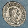 Münzen Trajan Dèce (249-251). Antoninien. Rome, 249. R/: Trajan Dèce à cheval