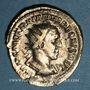 Münzen Trajan Dèce (249-251). Antoninien. Rome, 250. R/: Victoire courant à gauche