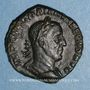 Münzen Trajan Dèce (249-251). Sesterce. Rome, 249. R/: Victoire