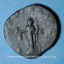 Münzen Trébonien Galle (251-253). Sesterce. Rome, 251-252. R/: la Liberté