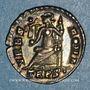 Münzen Valens (364-378). Silique. Trèves, 367-375. R/: Rome assise à gauche