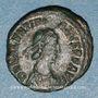 Münzen Valentinien II (375-392). 1/2 centénionalis. Siscia, 2e officine, 384-387. R/: Victoire