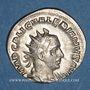 Münzen Valérien I (253-260). Antoninien. Rome, 253-255. R/: Apollon