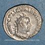 Münzen Valérien I (253-260). Antoninien. Rome, 253-255. R/: Jupiter