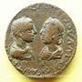 Münzen Alexandre Sévère (222-235) et Julia Mamée. Bronze. Edess (Mésopotamie). R/: la déesse de la cité