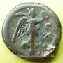 Münzen Antonin le Pieux (138-161). Tétradrachme. Alexandrie, an 23 (159-160). R/: victoire marchant à dr.
