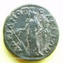 Münzen Caracalla (198-217). Bronze. 26 mm. Hadrianopolis (Thrace). R/: Tyché