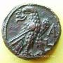 Münzen Claude II le Gothique (268-270). Tétradrachme. Alexandrie, an 1 (268-269). R/: aigle debout à gauche