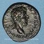 Münzen Commode (177-192). Bronze. Amphipolis (Macédoine), 198-217